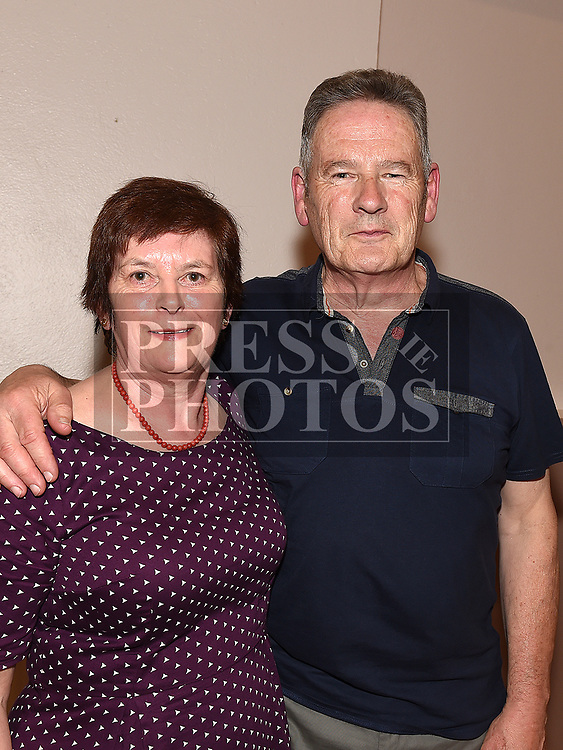 Aidan and Agnes McCabe at the ceilí held in Duleek Parish Centre. Photo:Colin Bell/pressphotos.ie