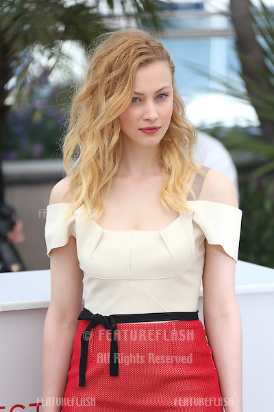 Sarah Gadon at the 'Cosmopolis' photocall during the 65th Annual Cannes Film Festival at Palais des Festivals. 25/05/2012 Picture by: Henry Harris / Featureflash