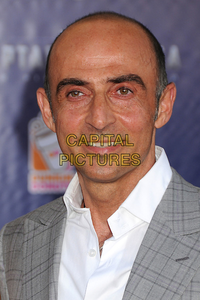 "Shaun Toub.""Captain America: The First Avenger"" Los Angeles Premiere held at the El Capitan Theatre, Hollywood, California, USA..July 19th, 2011.headshot portrait white grey gray.CAP/ADM/BP.©Byron Purvis/AdMedia/Capital Pictures."