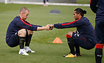 Kenny Miller and Carlos Pena