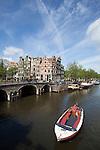 Grachtengürtel Nord, Prinsengracht Ecke Brouwersgracht, Amsterdam