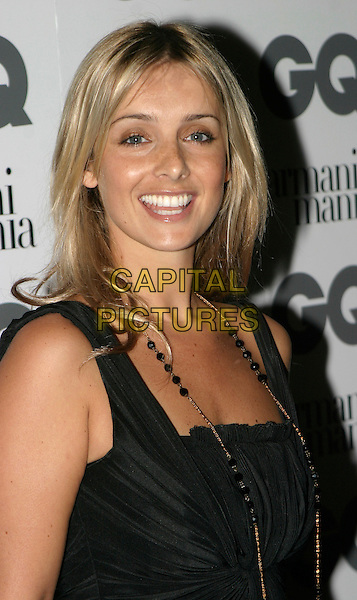 LOUISE REDKNAPP.The 8th Anual GQ Men of The Year Awards,.The Royal Opera House,.London, 6th September 2005.portrait headshot black dress bead necklace.www.capitalpictures.com.sales@capitalpictures.com.© Capital Pictures.