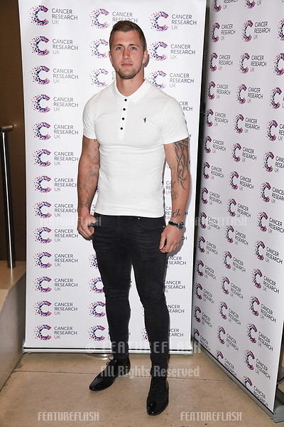 Dan Osbourne arriving at James Ingham&rsquo;s Jog On to Cancer, in aid of Cancer Research UK at The Roof Gardens in Kensington, London.  <br /> 12 April  2017<br /> Picture: Steve Vas/Featureflash/SilverHub 0208 004 5359 sales@silverhubmedia.com