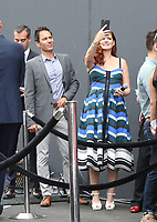 02 August 2017 - Universal City, California.  Debra Messing, Eric McCormack. 'Will & Grace' start of production kick off event and ribbon cutting ceremony at Universal Studios Photo Credit: PMA/AdMedia