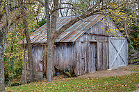 Old barn in Boxley Valley near the Buffalo National River.