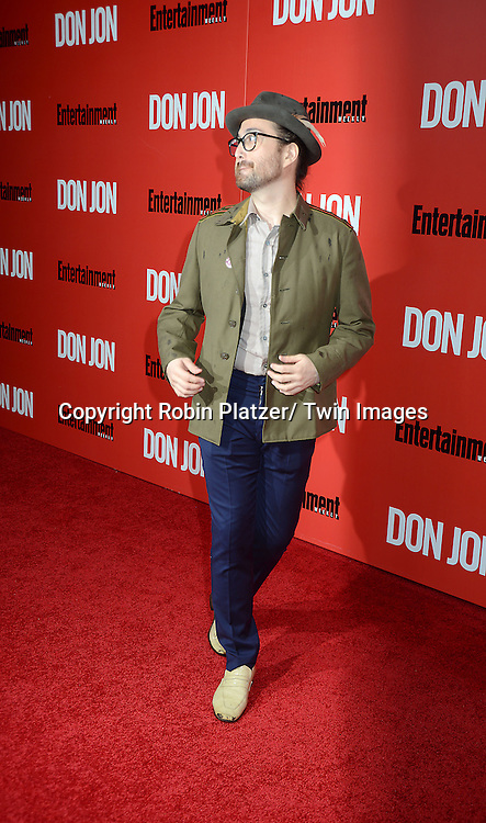 "Sean Lennon attends the ""Don Jon"" New York Movie Premiere on September 12, 2013 at the SVA Theatre in New York City."