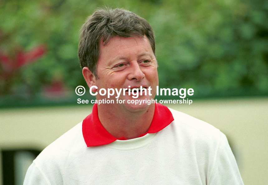 Ian Woosnam, Professional Golfer, Wales, Britain, UK, Ref: 199907154. .Photograph taken July 1999 at Druids Glen, Co Wicklow, during Murphys Irish Open...Copyright Image from Victor Patterson, 54 Dorchester Park, Belfast, UK, BT9 6RJ..Tel: +44 28 9066 1296.Mob: +44 7802 353836.Voicemail +44 20 8816 7153.Skype: victorpattersonbelfast.Email: victorpatterson@mac.com.Email: victorpatterson@ireland.com (back-up)..IMPORTANT: If you wish to use this image or any other of my images please go to www.victorpatterson.com and click on the Terms & Conditions. Then contact me by email or phone with the reference number(s) of the image(s) concerned.