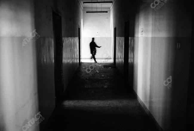 Detox ward of the Mental Health Hospital. Kabul, Afghanistan. March 2006