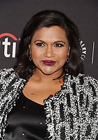 BEVERLY HILLS, CA - SEPTEMBER 08:  Actress Mindy Kaling attends The Paley Center for Media's 11th Annual PaleyFest fall TV previews Los Angeles for Hulu's The Mindy Project at The Paley Center for Media on September 8, 2017 in Beverly Hills, California.<br /> CAP/ROT/TM<br /> &copy;TM/ROT/Capital Pictures