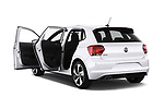 Car images close up view of a 2018 Volkswagen Polo GTI 5 Door Hatchback doors