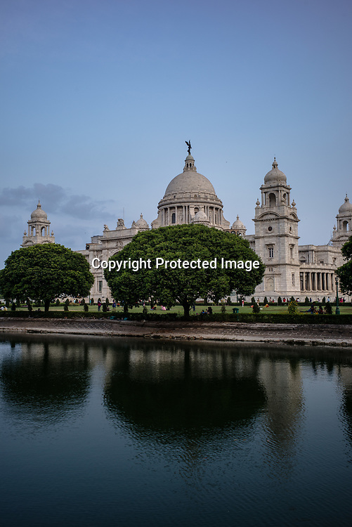 The Victoria Memorial in Kolkata, West Bengal  on Friday, May 26, 2017. Photographer: Sanjit Das