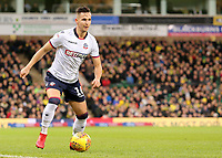 Bolton Wanderers' Pawel Olkowski in action<br /> <br /> Photographer David Shipman/CameraSport<br /> <br /> The EFL Sky Bet Championship - Norwich City v Bolton Wanderers - Saturday 8th December 2018 - Carrow Road - Norwich<br /> <br /> World Copyright &copy; 2018 CameraSport. All rights reserved. 43 Linden Ave. Countesthorpe. Leicester. England. LE8 5PG - Tel: +44 (0) 116 277 4147 - admin@camerasport.com - www.camerasport.com