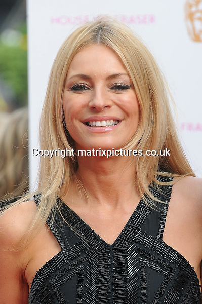 NON EXCLUSIVE PICTURE: PAUL TREADWAY / MATRIXPICTURES.CO.UK<br /> PLEASE CREDIT ALL USES<br /> <br /> WORLD RIGHTS<br /> <br /> Tess Daly attends the House of Fraser British Academy Television Awards at Theatre Royal in London.<br /> <br /> MAY 10th 2015<br /> <br /> REF: PTY 151461