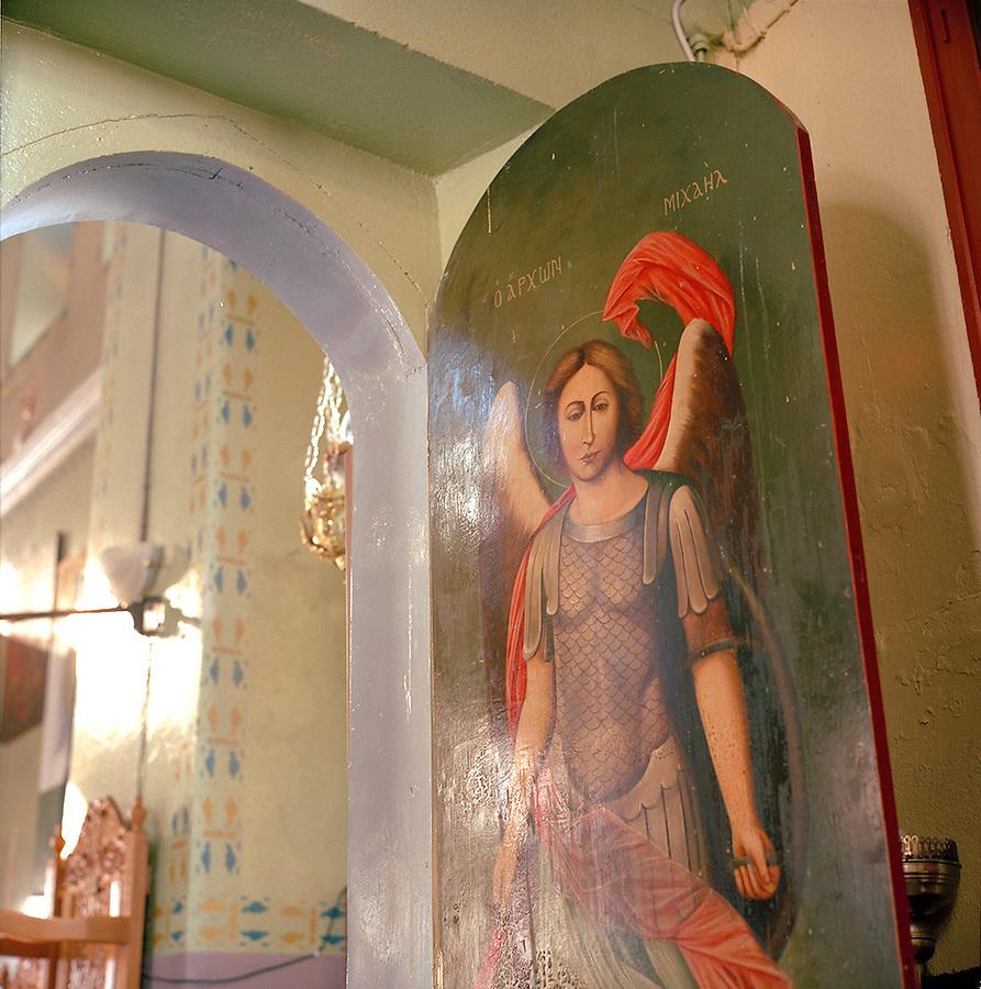 Greek Orthodox church on the island of Nisyros, Dodecanese islands, Greece
