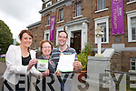 Sandra Leahy, Helen O'Carroll and  Eoin Quilter from Kerry County Museum who were received a 'Recommended on Trip Advisor' award this week.