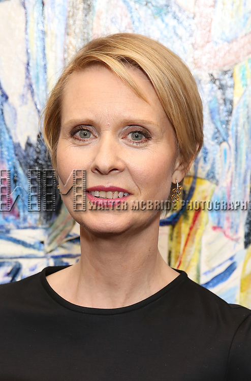 Cynthia Nixon attends the 67th Annual Outer Critics Circle Theatre Awards at Sardi's on May 25, 2017 in New York City.