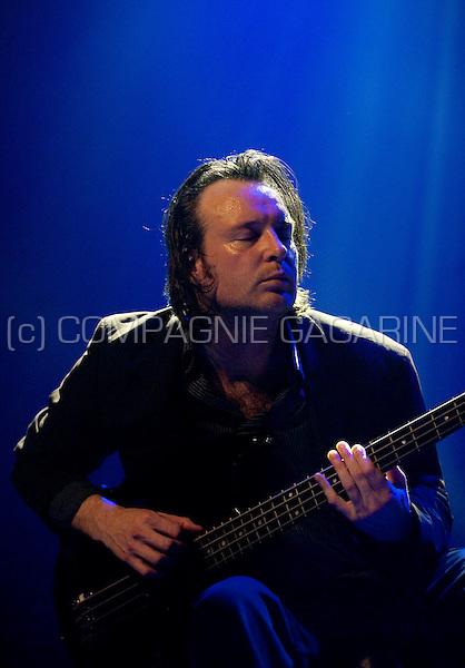 British band I Am Kloot at the De Nachten festival in Antwerp (Belgium, 06/11/2010)