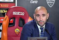 AS Roma Sport Director Monchi <br /> Campionato Italiano Calcio Serie A 2017/2018<br /> Roma 30-08-2017  <br /> Press Conference - Conferenza Stampa <br /> Foto Gino Mancini/Insidefoto