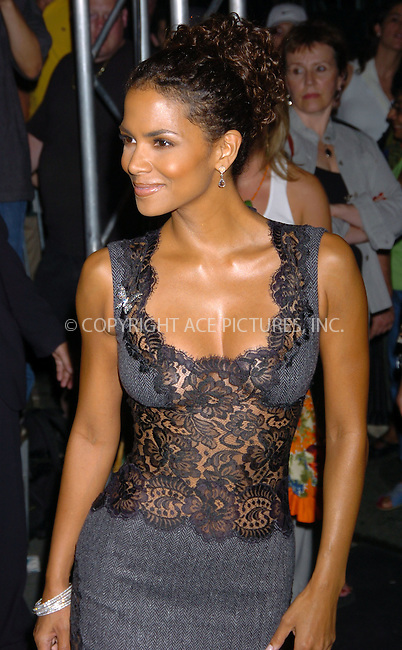 """Halle Berry at the """"Catwoman"""" VIP screening after-party at Henri Bendel's 5th Avenue location. New York City, July 21 2004. Please byline: AJ SOKALNER/ACE Pictures..*PAY-PER-USE*....IMPORTANT: Please note that our old trade name New York Photo Press has changed to ACE Pictures. New York Photo Press and ACE Pictures are both owned by All Celebrity Entertainment, Inc.......All Celebrity Entertainment, Inc..Contact: Alecsey Boldeskul, (646) 267 6913..Philip vaughan, (646) 769 0430..e-mail: info@acepixs.com..Philip.Vaughan@acepixs.com"""