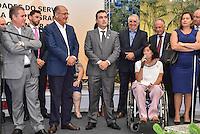 CAMPINAS,SP, 14.02.2017 - ALCKMIN - A Deputada Estadual Célia Leão e o Governador Geraldo Alckmin, PSDB, inaugurou o Serviço de Hidroterapia do Programa de Reabilitação em Câncer da Rede Lucy Montoro, descerrou a Placa do Departamento Regional de Saúde, lançou editais do BID para construção de UBS na região de Campinas, descerrou as placas da 1ª e 2ª D.D.M, nesta terça-feira, 14, em Campinas, interior de São Paulo. (Foto: Mauricio Bento/Brazil Photo Press)
