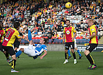 Partick Thistle v St Johnstone&hellip;10.09.16..  Firhill  SPFL<br />Chris Kane&rsquo;s overhead kick goes just over<br />Picture by Graeme Hart.<br />Copyright Perthshire Picture Agency<br />Tel: 01738 623350  Mobile: 07990 594431