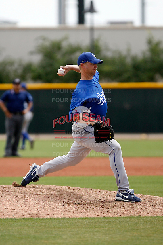 John Bale -  Kansas City Royals - 2009 extended spring training pitching in a rehab appearance against the Texas Rangers at the Royals training complex in Surprise, AZ - 5/2/2009.Photo by:  Bill Mitchell/Four Seam Images