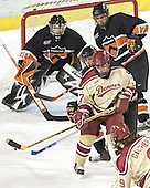 Seamus Young, Patrick Mullen (Eric Leroux, Brian Carthas, Gabe Gauthier) - The Princeton University Tigers defeated the University of Denver Pioneers 4-1 in their first game of the Denver Cup on Friday, December 30, 2005 at Magness Arena in Denver, CO.