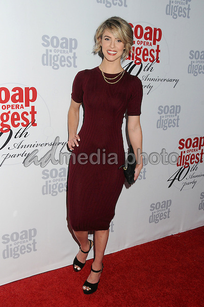 24 February 2016 - Hollywood, California - Linsey Godfrey. Soap Opera Digest's 40th Anniversary Event held at The Argyle Hollywood. Photo Credit: Byron Purvis/AdMedia
