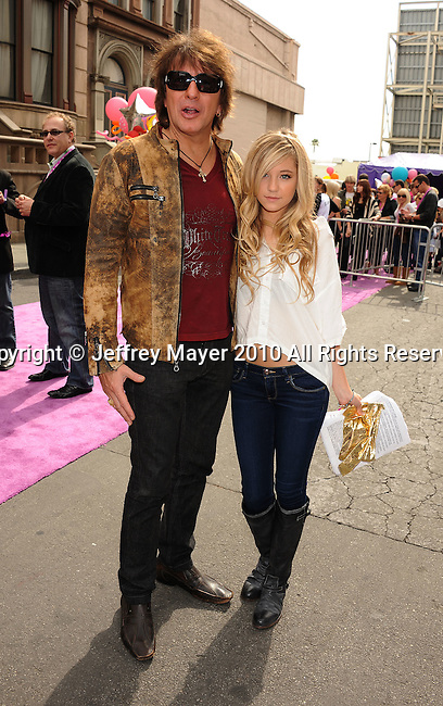 HOLLYWOOD, CA. - October 24: Richie Sambora, Ava Sambora arrive at Variety's 4th Annual Power of Youth event at Paramount Studios on October 24, 2010 in Hollywood, California.