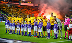 12.12.2019 Rangers v Young Boys Bern: Young Boys team and mascots