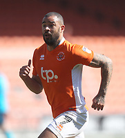 Blackpool's Kyle Vassell<br /> <br /> Photographer Mick Walker/CameraSport<br /> <br /> The EFL Sky Bet League One - Blackpool v Fleetwood Town - Saturday 14th April 2018 - Bloomfield Road - Blackpool<br /> <br /> World Copyright &copy; 2018 CameraSport. All rights reserved. 43 Linden Ave. Countesthorpe. Leicester. England. LE8 5PG - Tel: +44 (0) 116 277 4147 - admin@camerasport.com - www.camerasport.com