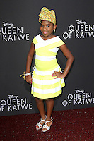 "20 September 2016 - Hollywood, California - Trinitee Stokes. ""Queen Of Katwe"" Los Angeles Premiere held at the El Capitan Theater in Hollywood. Photo Credit: AdMedia"