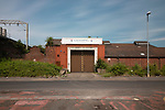 The site of Manchester City's ground on Hyde Road. City played here between 1887 and 1923. The capacity was 40,000, the ground hosted an FA Cup Semi Final between Newcastle and Sheffield Wednesday in 1905. Part of the Ghost Grounds project.