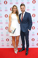 Brian McFadden, Vogue Williams at the Tesco Mum of the Year Awards 2014 held at the Savoy, London 23/03/2014 Picture by: Henry Harris / Featureflash