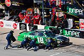 #18: Daniel Suarez, Joe Gibbs Racing, Toyota Camry Juniper Networks