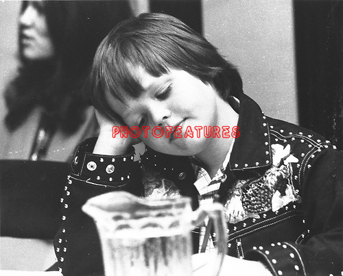 Little Jimmy Osmond 1973.© Chris Walter.