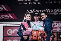 Chris Froome (GBR/SKY) wins the stage up the infamous Monte Zoncolan<br /> <br /> stage 14 San Vito al Tagliamento &ndash; Monte Zoncolan (186 km)<br /> 101th Giro d'Italia 2018