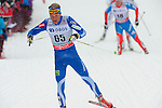 HOLMENKOLLEN, OSLO, NORWAY - March 16: Ville Nousiainen of Finland (FIN) during the Men 50 km mass start, free technique, at the FIS Cross Country World Cup on March 16, 2013 in Oslo, Norway. (Photo by Dirk Markgraf)