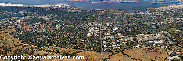 aerial photograph Stanford Research Park, Palo Alto, California