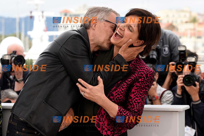 Valeria Bruni-Tedeschi, Fabrice Luchini, Juliette Binoche<br /> Festival di Cannes 2016 <br /> Foto Panoramic / Insidefoto