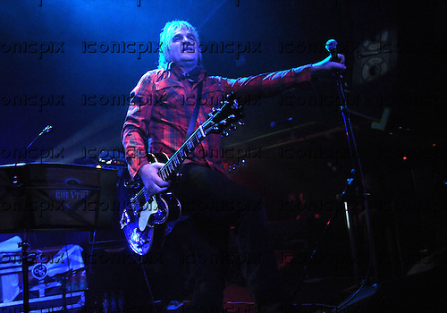 Big Country - vocalist Mike Peters of The Alarm performing live with the reunited band at the Academy Islington in London UK - 06 Jan 2011.  Photo credit: George Chin/IconicPix