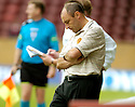 12/08/2006        Copyright Pic: James Stewart.File Name : sct_jspa22_motherwell_v_aberdeen.MOTHERWELL MANAGER MAURICE MALPAS WATCHES HIS SIDE BEING BEATEN BY ABERDEEN.......Payments to :.James Stewart Photo Agency 19 Carronlea Drive, Falkirk. FK2 8DN      Vat Reg No. 607 6932 25.Office     : +44 (0)1324 570906     .Mobile   : +44 (0)7721 416997.Fax         : +44 (0)1324 570906.E-mail  :  jim@jspa.co.uk.If you require further information then contact Jim Stewart on any of the numbers above.........