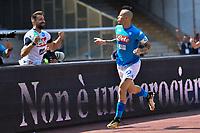 Esultanza Gol Marek Hamsik Napoli Goal celebration <br /> Napoli 01-10-2017 Stadio San Paolo Football Calcio Serie A 2017/2018 Napoli - Cagliari  <br /> Foto Andrea Staccioli / Insidefoto