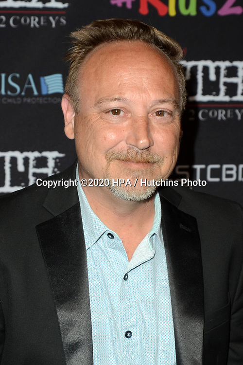 "LOS ANGELES - MAR 9:  Keith Coogan at the ""(My) Truth: The Rape of 2 Coreys"" L.A. Premiere at the DGA Theater on March 9, 2020 in Los Angeles, CA"