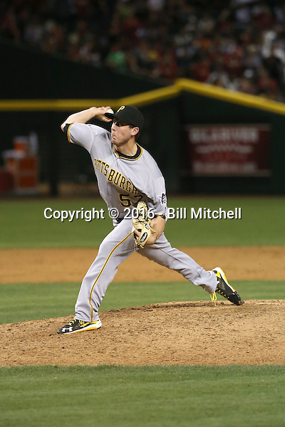 Rob Scahill - 2016 Pittsburgh Pirates (Bill Mitchell)