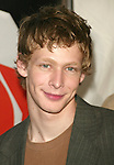 "Johnny Lewis (""Quintuplets"") attending the FOX TV Network Upfront at the City Center with a party at The Boathouse in Central Park, New York City.  May 20, 2004."