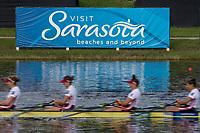 Sarasota. Florida USA.  Semi Final A/B. 2017 World Rowing Championships, Nathan Benderson Park<br /> <br /> Saturday  30.09.17   <br /> <br /> [Mandatory Credit. Peter SPURRIER/Intersport Images].<br /> <br /> <br /> NIKON CORPORATION -  NIKON D500  lens  VR 500mm f/4G IF-ED mm. 160 ISO 1/80/sec. f 20