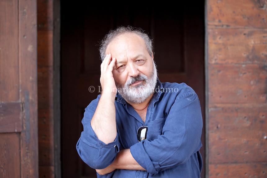 Roberto Piumini, italian writer. Mantova, 2011.  © Leonardo Cendamo