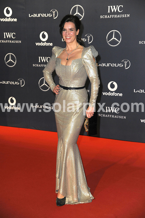 **ALL ROUND PICTURES FROM SOLARPIX.COM**                                             **WORLDWIDE SYNDICATION RIGHTS**                                                                                  Stars arrive at the Laureus World Sports Awards, held Central Hall, Westminster in London.  .This pic:  Katarina Witt.JOB REF:     14445   MSR       DATE:  06.02.12                                                          **MUST CREDIT SOLARPIX.COM OR DOUBLE FEE WILL BE CHARGED**                                                                      **MUST AGREE FEE BEFORE ONLINE USAGE**                               **CALL US ON: +34 952 811 768 or LOW RATE FROM UK 0844 617 7637**
