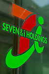 A Seven & iHoldings Co. signboard on display at the entrance of its convenience store on April 11, 2016, Tokyo, Japan. Toshifumi Suzuki, Seven iHoldings Co. chairman and CEO abruptly announced his resignation at a news conference on Thursday after the company board rejected his proposal to replace Ryuichi Isaka, president of 7-Eleven Japan. Isaka was considered to be a potential future successor to Suzuki at the head of the retail group and it was rumored that Suzuki was trying remove Isaka in order to pave the way for his son to take over in the future. (Photo by Rodrigo Reyes Marin/AFLO)